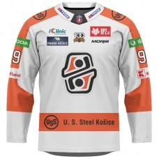Hokejový dres HC Košice AUTHENTIC svetlý s reklamami 2021/2022 11053
