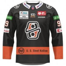 Hokejový dres HC Košice AUTHENTIC tmavý s reklamami 2021/2022 11051