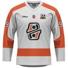 Hokejový dres HC Košice REPLICA svetlý dámsky bez reklám  2021/2022 12011