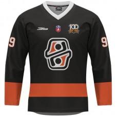Hokejový dres HC Košice REPLICA tmavý dámsky bez reklám  2021/2022 12009