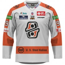 Hokejový dres HC Košice REPLICA svetlý pánsky s reklamami 2021/2022 11049
