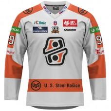 Hokejový dres HC Košice REPLICA svetlý dámsky s reklamami 2021/2022 12012