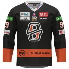 Hokejový dres HC Košice REPLICA tmavý pánsky s reklamami 2021/2022 11047