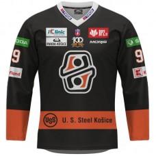 Hokejový dres HC Košice REPLICA tmavý dámsky s reklamami  2021/2022 12010