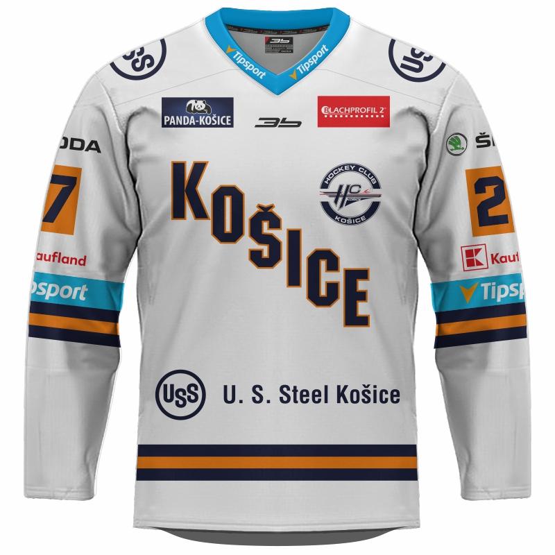 Dres HC Košice 2019/20 Replika svetlá 11011