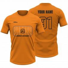 Detské oranžové tričko Ľadová plocha 23009