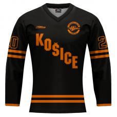 Dámsky dres HC Košice REPLICA čierny 2020/2021 bez reklám 12001