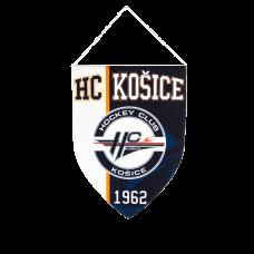 Mini vlajka HC Košice bielo-modrá 51015