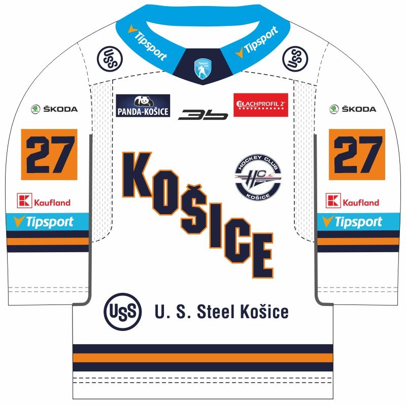 Minidres HC Košice 2019/20 biely 51018