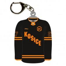 Prívesok HC Košice dres čierny 51025