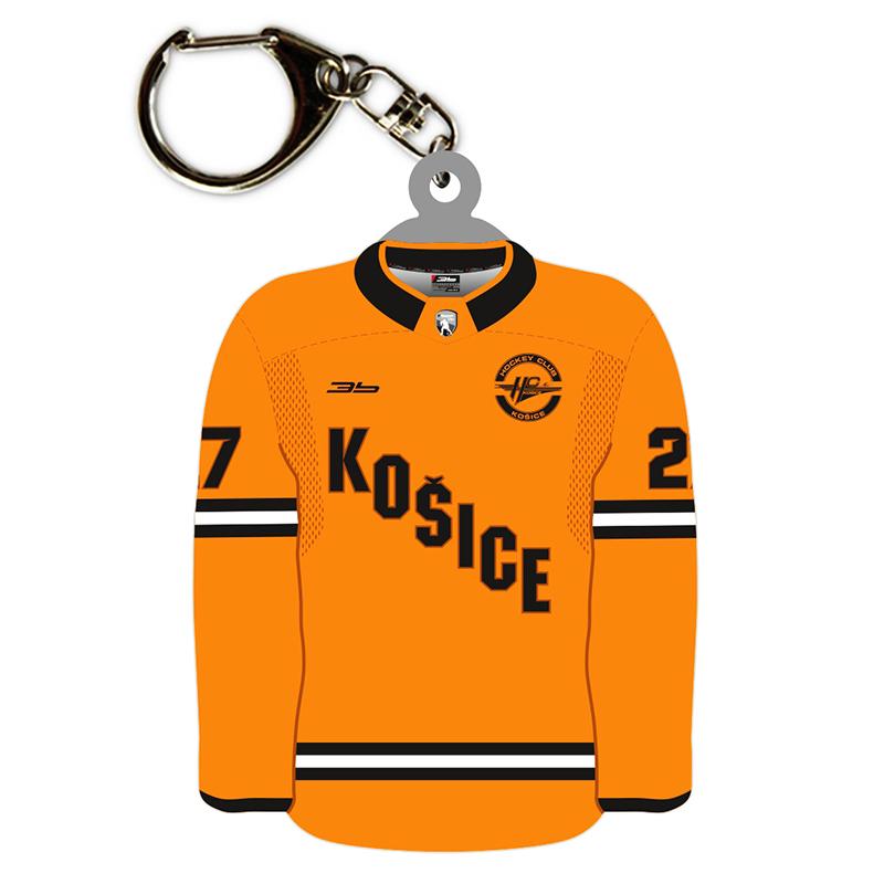 Prívesok HC Košice dres oranžový 51026