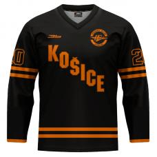 Dres HC Košice REPLICA čierny 2020/2021 bez reklám 11003