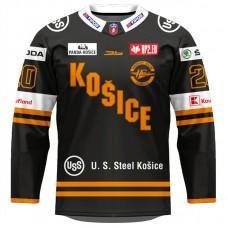 Dres HC Košice AUTHENTIC čierny 2020/2021 s logami partnerov 11002