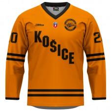 Dres HC Košice REPLICA oranžový 2020/2021 bez reklám 11007