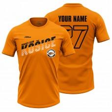 Pánske oranžové tričko HC Košice s nápisom Košice 21007