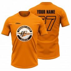 Pánske oranžové tričko HC Košice s logom 21006