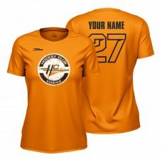Dámske oranžové tričko HC Košice s logom 22008