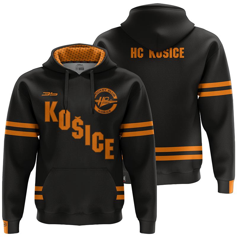 Pánska čierna mikina HC Košice 31003