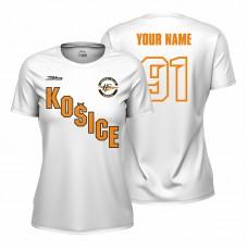 Dámske biele tričko HC Košice